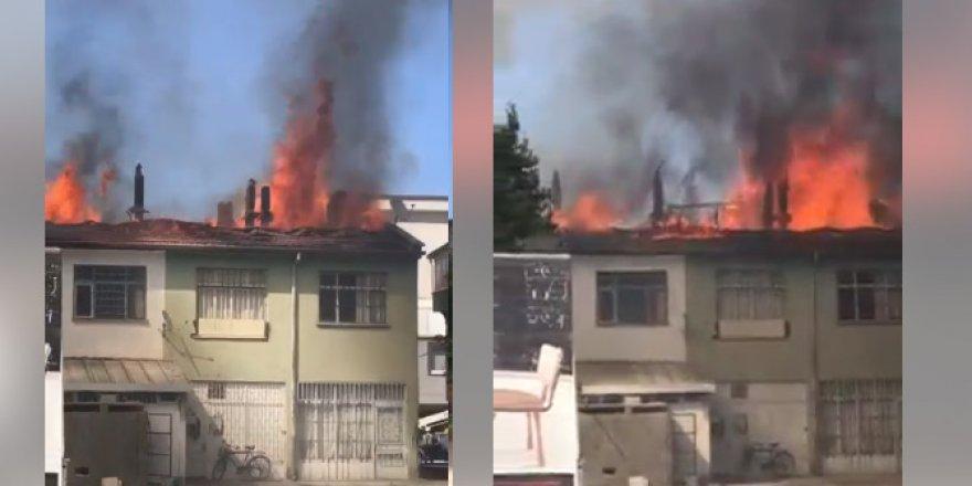 Konya'da büyük yangın! İtfaiye ekipleri yangına müdahale ediyor