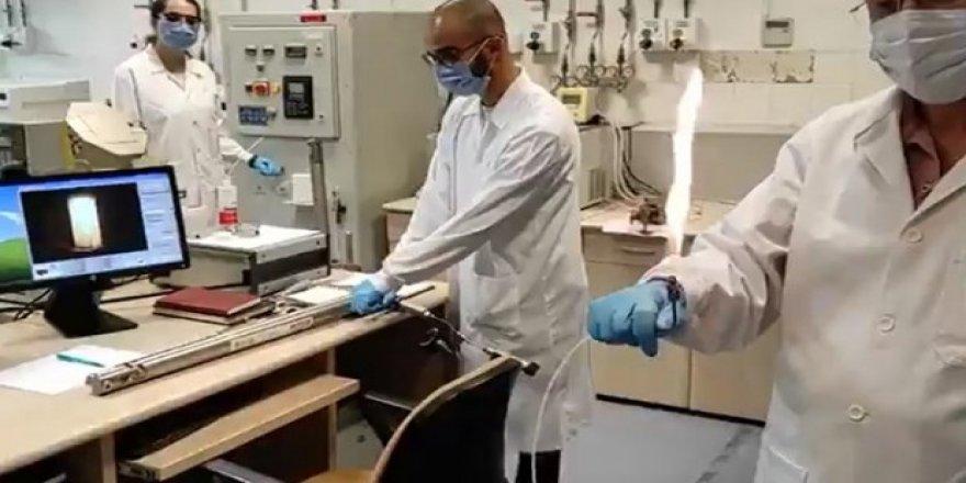 Karadeniz'de keşfedilen doğal gaz böyle test edildi