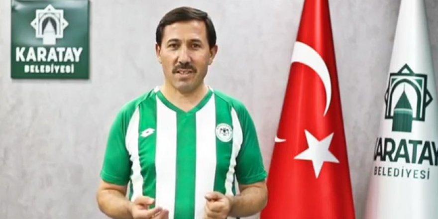 Karatay'dan Konyaspor'a destek