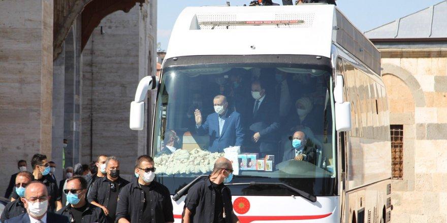 Cumhurbaşkanı Erdoğan, Konya'da