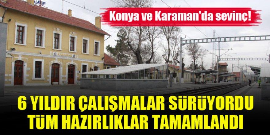 Konya-Karaman YHT hattında test sürüşleri başlıyor