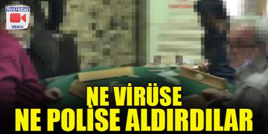 Ne virüse ne polise aldırdılar