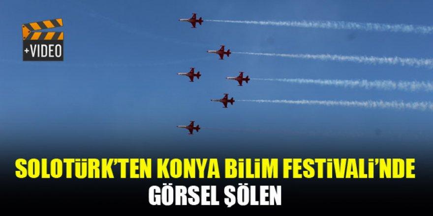 SOLOTÜRK'ten Konya Bilim Festivali'nde görsel şölen