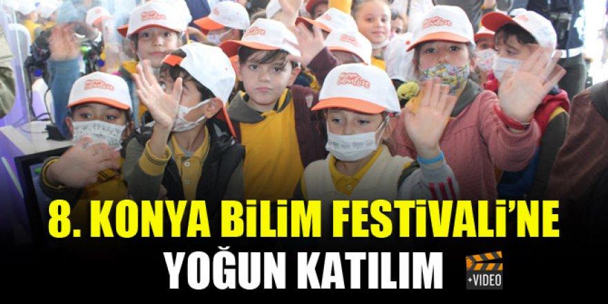 8. Konya Bilim Festivali'ne yoğun katılım