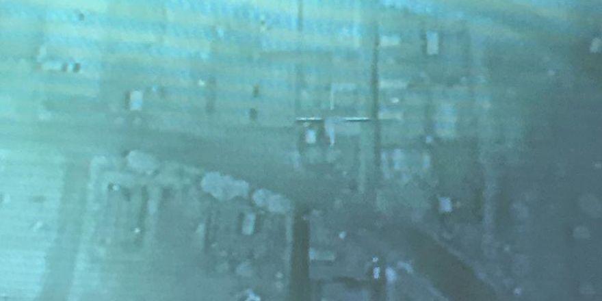 Cerablus bölgesindeki operasyonun havadan görüntüleri