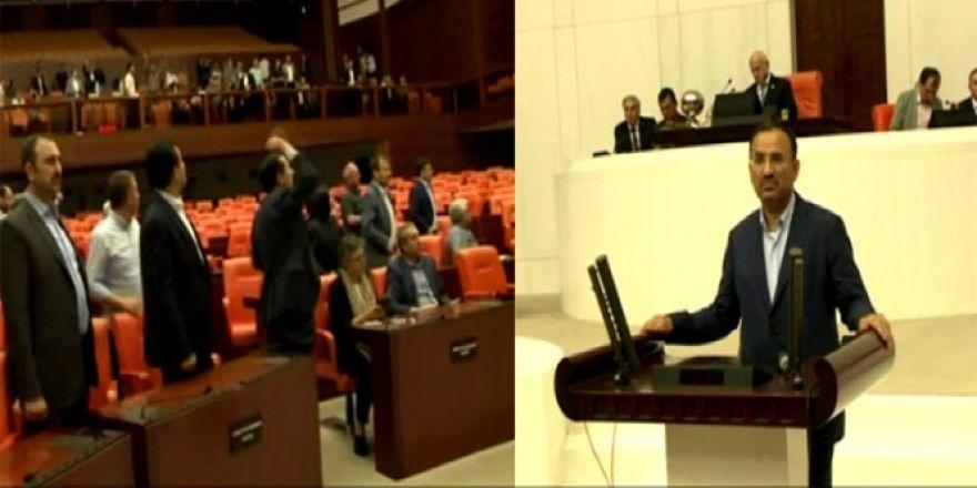 Meclis bombalanırken içeride bunlar yaşandı: Yeni görüntüler!