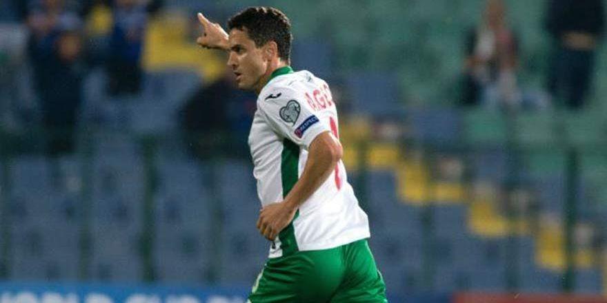 Konyaspor'un forveti Rangelov'dan milli takımda müthiş gol