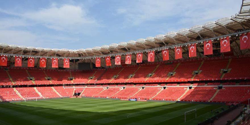 Milli stat Konya Arena, Milli maça hazır