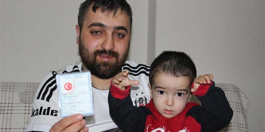 Fanatik taraftar oğluna Beşiktaş ismini koydu