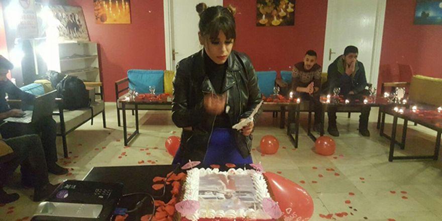 'Uçan kız' 3 gün önce doğum gününü kutlamış