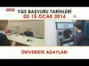 ÖSYM 2014 YGS kamu spotu yayınladı