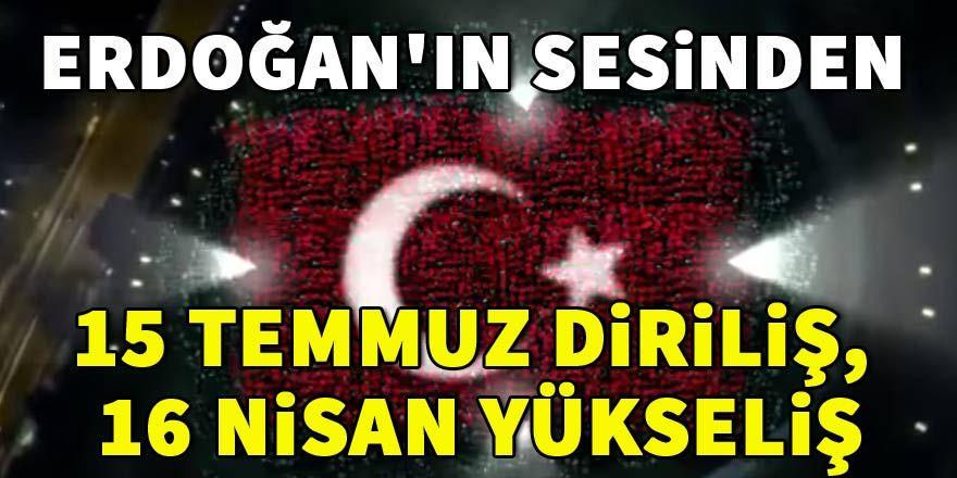 Yeni reklam filmi... Cumhurbaşkanı Erdoğan paylaştı