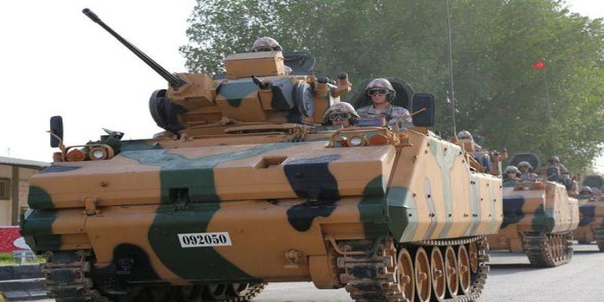 Askerimiz Katar'da! TSK Mekanize Birlikleri Doha'ya girdi
