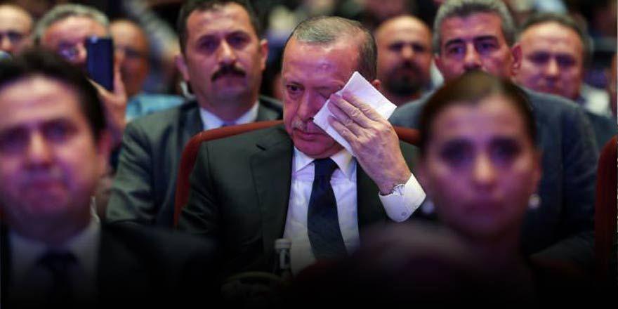 Beştepe'de tören! Erdoğan gözyaşlarına boğuldu