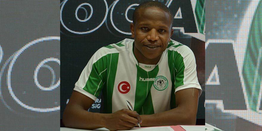 Huzurlarınızda Konyaspor'un yeni transferi Manyama!