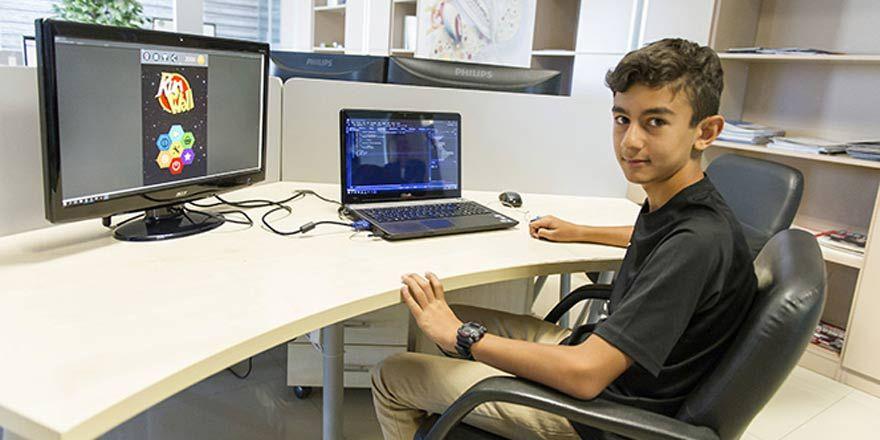 13 yaşında oyun hazırladı: Hedefi 1 milyon