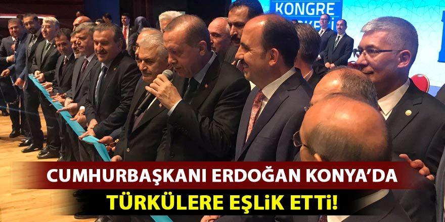 Cumhurbaşkanı Erdoğan Kerkük ve Altın Hızma Türkülerine eşlik etti