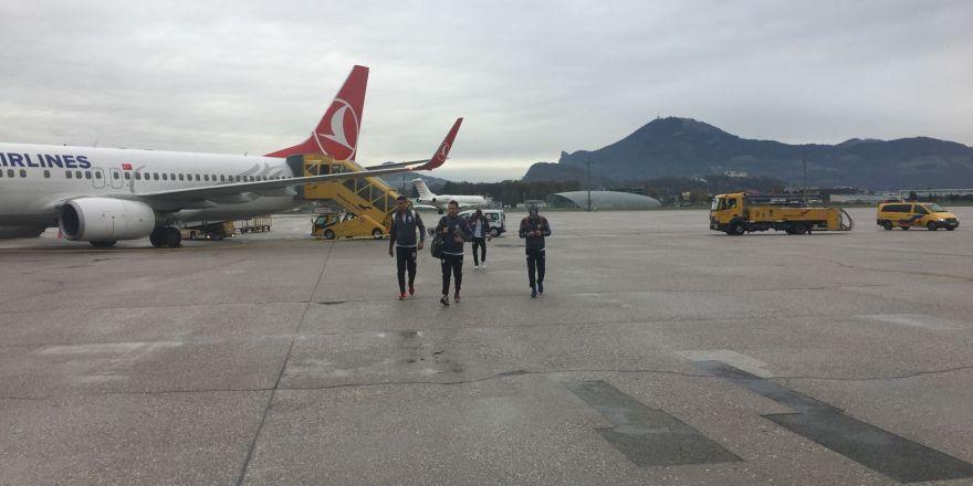 Atiker Konyaspor kafilesi Avusturya'da