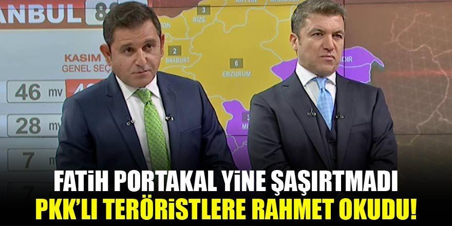 Fatih Portakal'dan skandal gaf! Teröristlere rahmet diledi