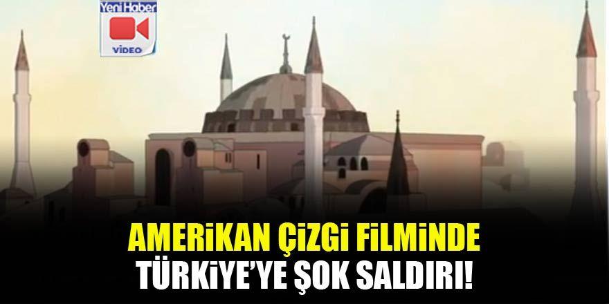 Amerikan çizgi filminde Türkiye'ye saldırı mesajı!