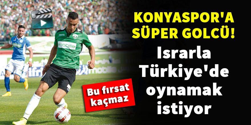 Konyaspor'a süper golcü! Hamzaoui Okacha