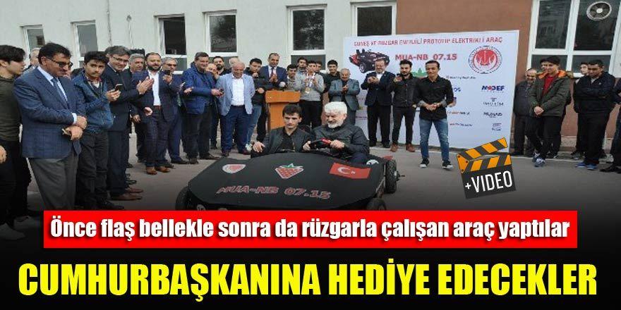 """""""15 Temmuz"""" isimli araç Erdoğan'a hediye edilecek"""