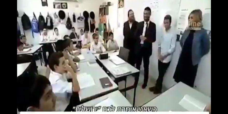 İsrail, çocuklarına Aksa'yı yok etmeyi öğretiyor!