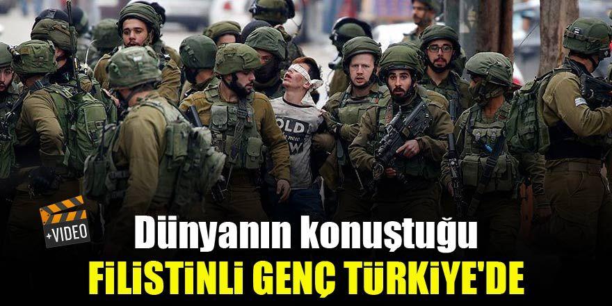 Dünyanın konuştuğu Filistinli genç Türkiye'de