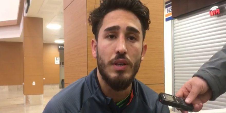 Konyaspor'da Vedat Bora, sakatlığı hakkında konuştu! VİDEO