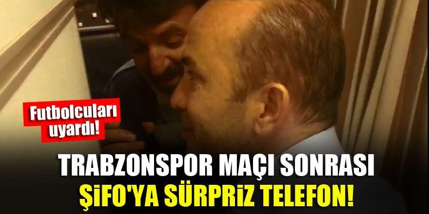 Trabzonspor maçı sonrası Mehmet Özdilek'e sürpriz telefon!
