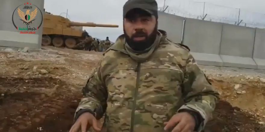 ÖSO'lu Kürt komutan: Toprağımızı PKK çetelerinden kurtarmaya geldik!